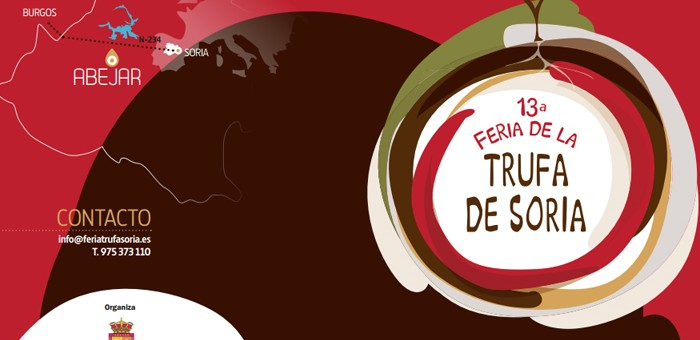 The Truffle Fair of Soria celebrates its 14th edition and will be held in Abejar on 20 and 21 February 2016