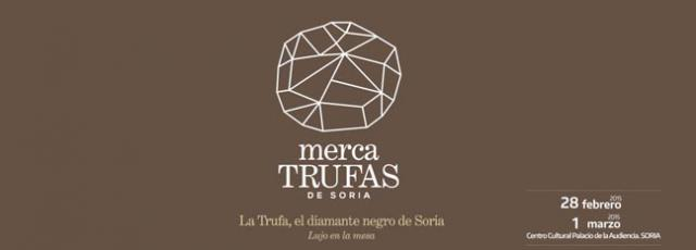 This weekend the city of Soria hosts the first Mercatrufas