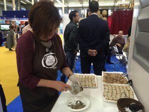 Degustación trufa de Soria y productos trufados en Intur