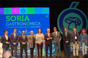 Les autorités présentes dans l´inauguration du VI Congrès Soria